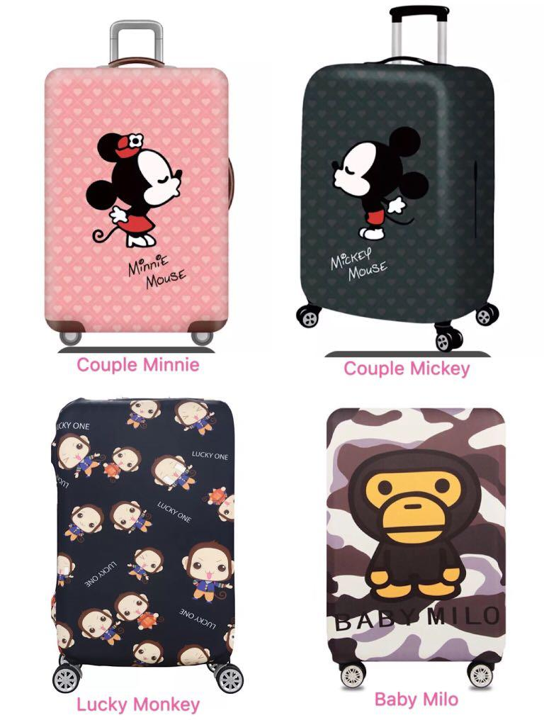 Monkey Kong Super Mario Travel Luggage Cover Suitcase Protector Fits 26-28 Inch Washable Baggage Covers