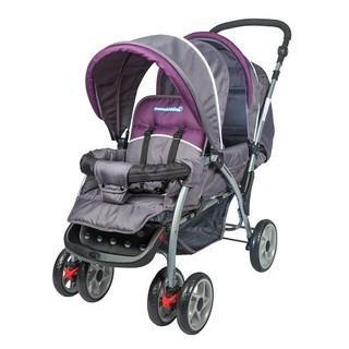 Mamakiddies New Tandem Toddler Baby Stroller Pram Elixir