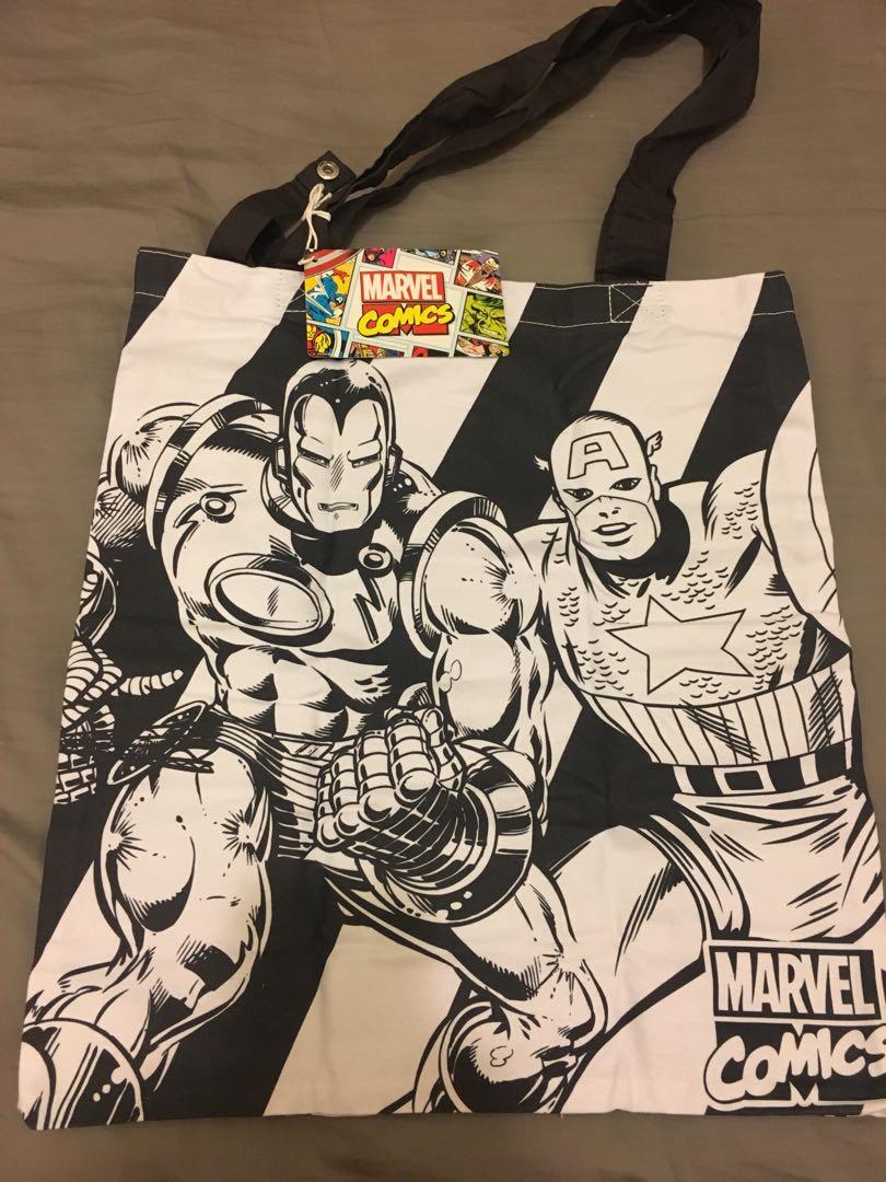 Marvel comics Tote Bag 環保袋