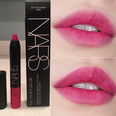 NARS Velvet Matte Lip Pencil Lets Go Crazy Mini 1.8g. BNIB