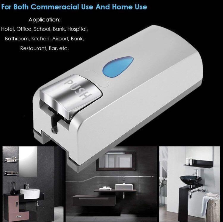 Newthinking Soap Dispenser -600ml Capacity Chrome Plated Hand Cleaning In Style - Great as Gifts for Kitchen, Bathroom and Shower (M2072)