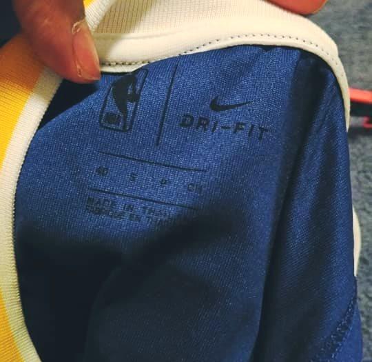 Nike Golden State Warriors Durant Swingman top S size