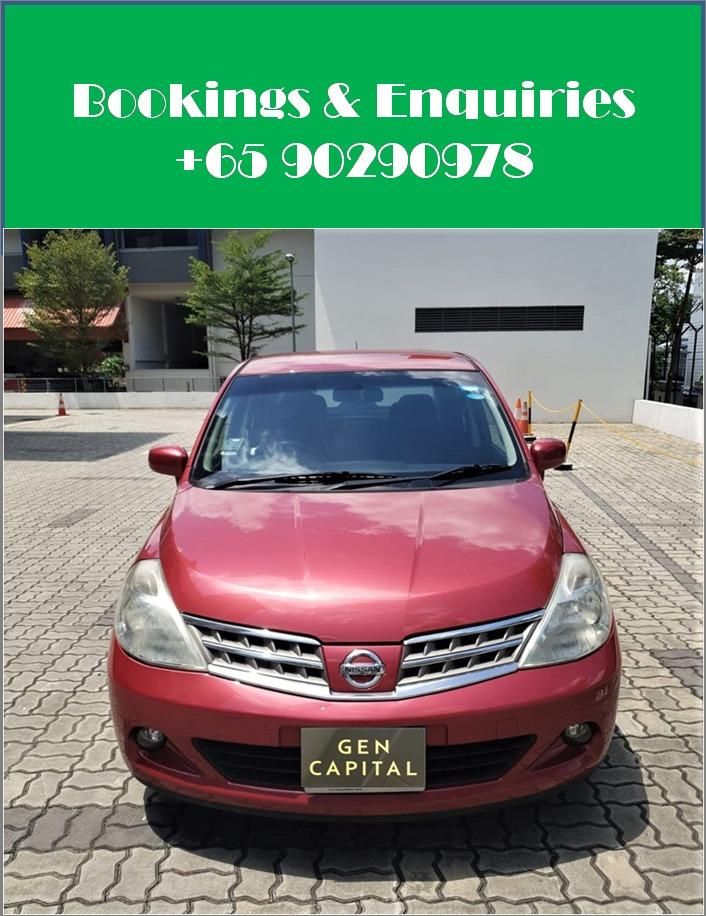 Nissan Latio 1.5A - Cheapest rental in city, quickest assistance!
