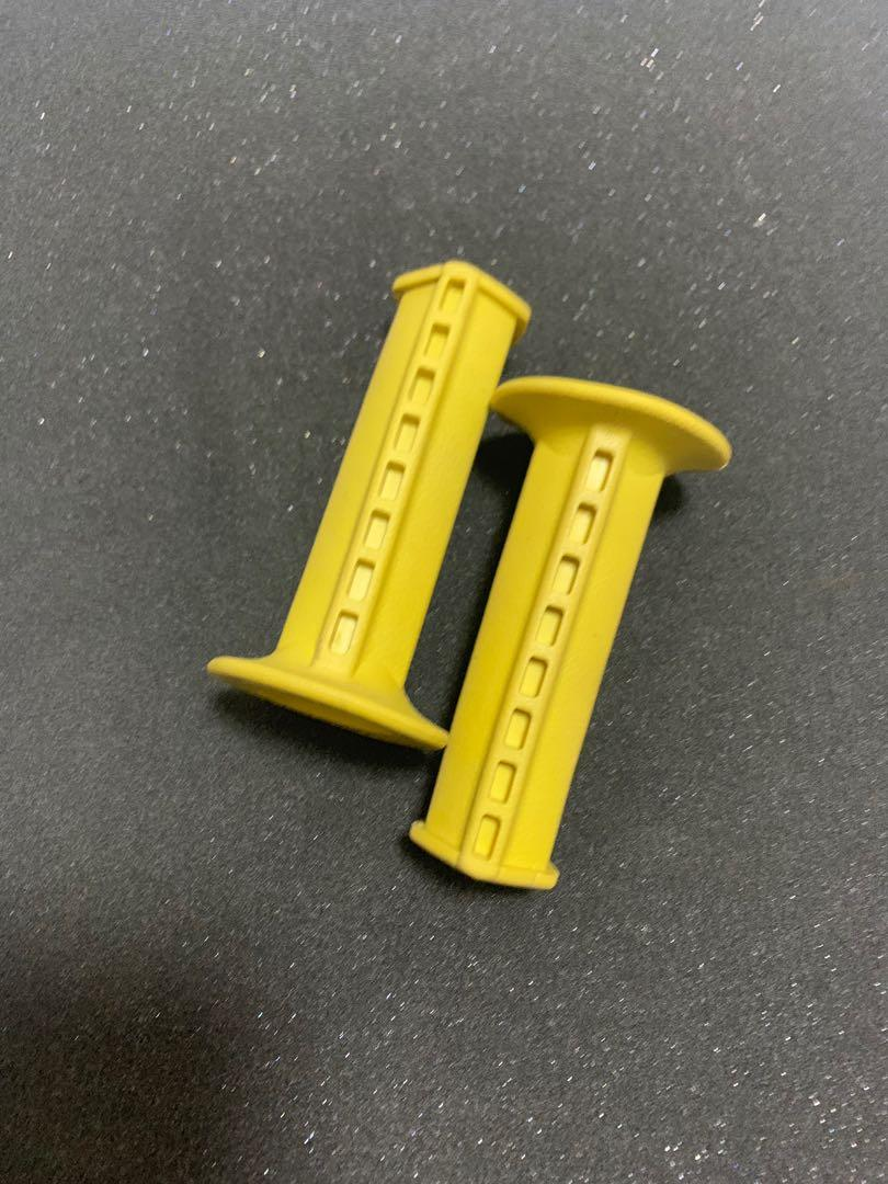 Solid Yellow NEW! BMX Old School Single Stem Pad