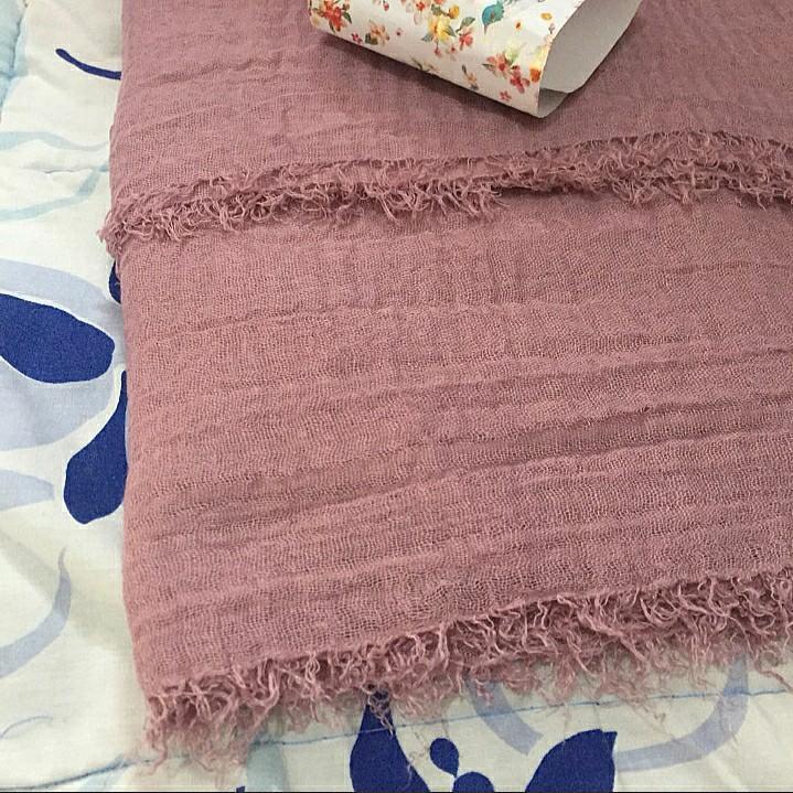 Pashmina Crinkle Dusty Pink