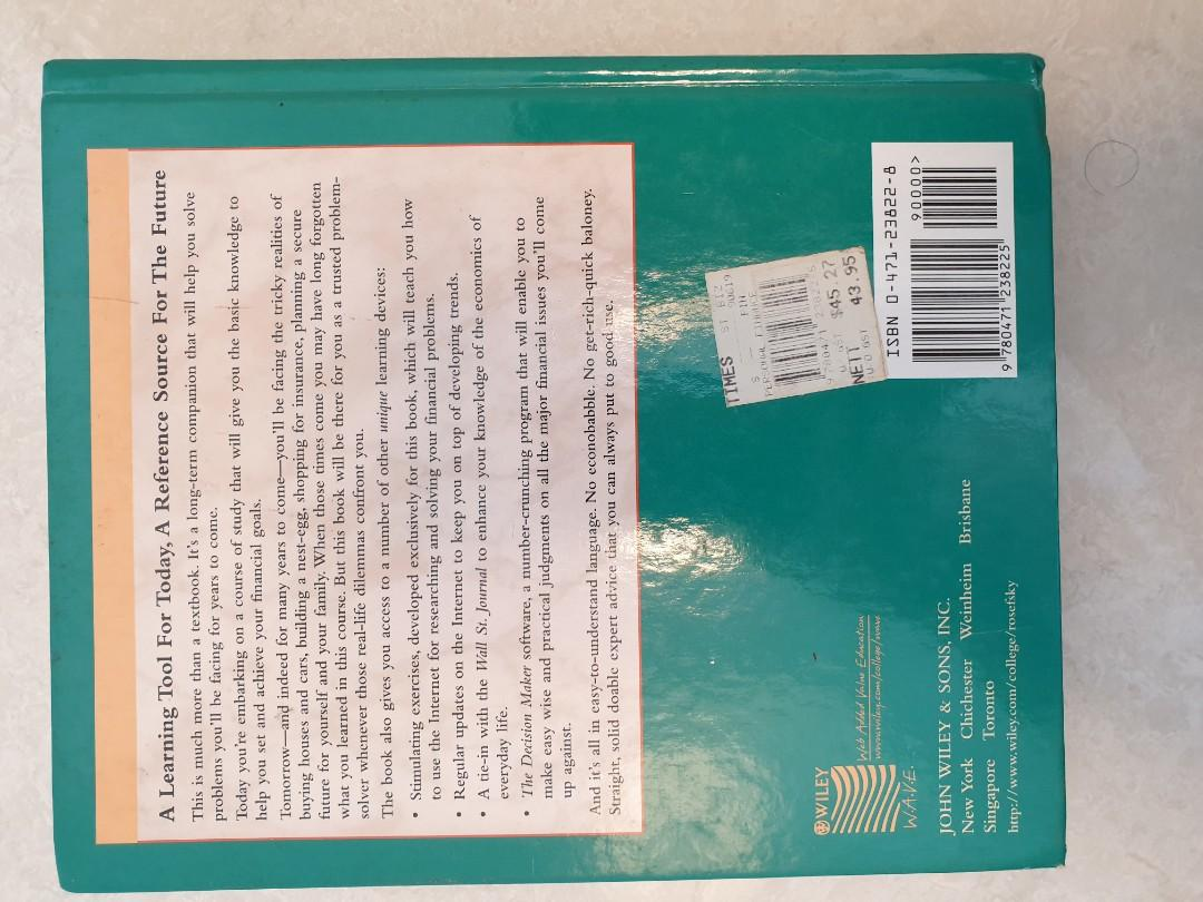 PERSONAL FINANCE, A Learning Tool for Today, A Reference Source for the Future, Hardcopy