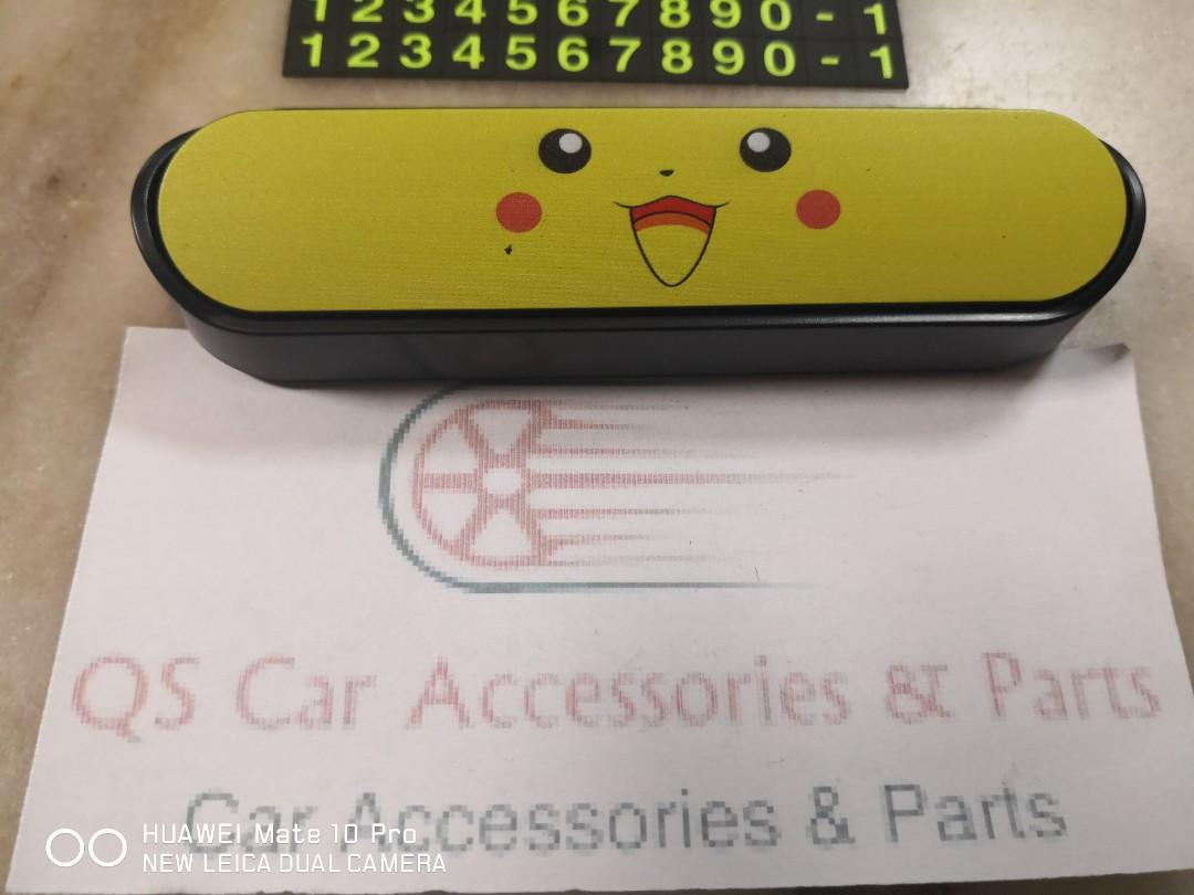 pikachu parking card