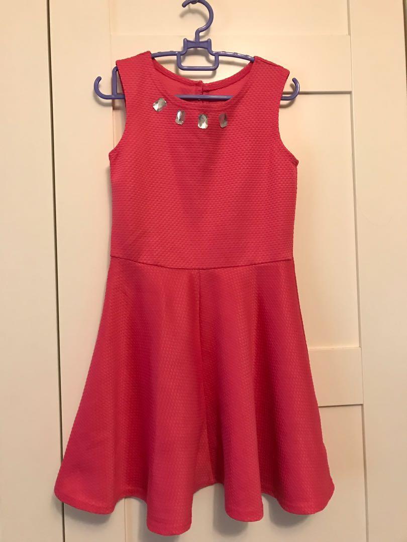 Pink Dress St. Bernard