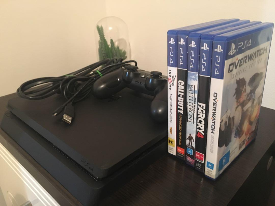 PS4 PREOWNED + Games