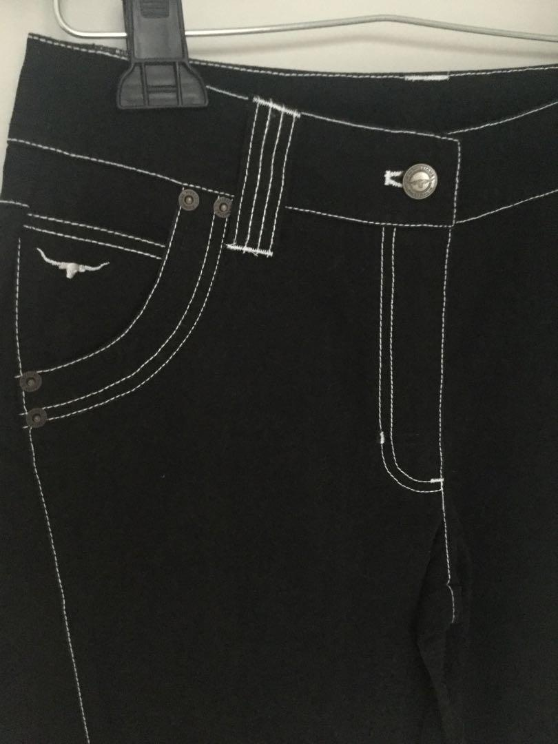 Rm Williams size 10 black jeans womens