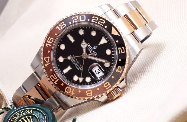 Rolex - GMT Master II Brown & Black Ceramic Steel & 18K Rose Gold 'Random' (New in Box)