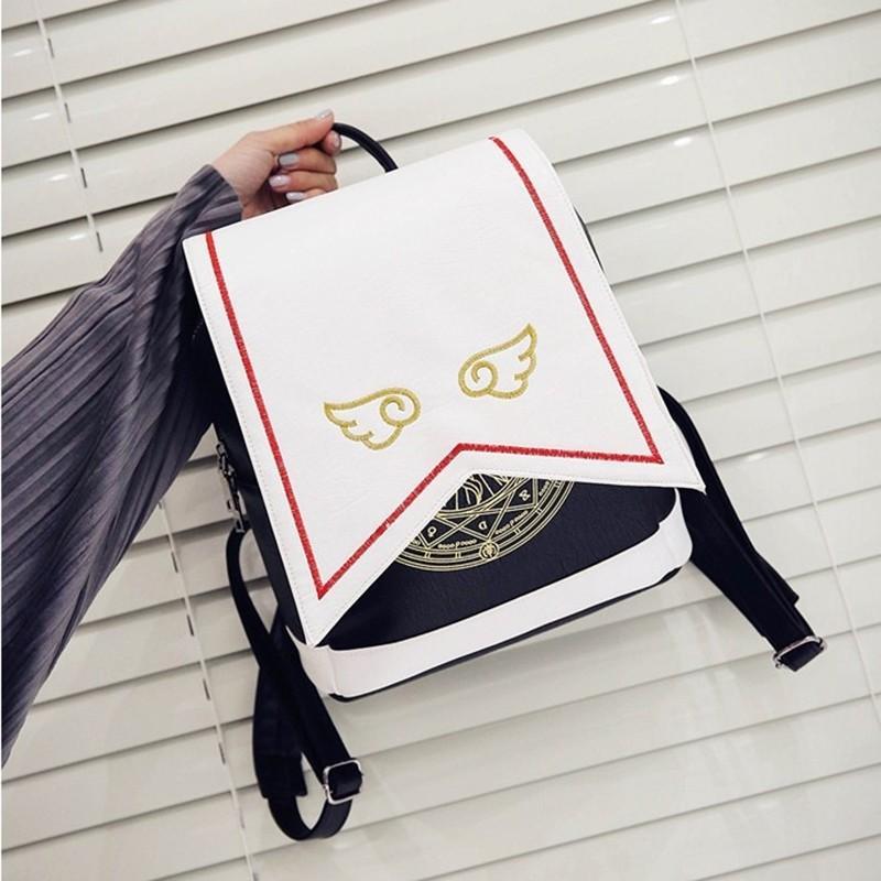 ☀️SAKURA CARDCAPTOR ANIME THEMED CUTE LOLITA COSPLAY WOMEN FASHION  BAG BACKPACK☀️