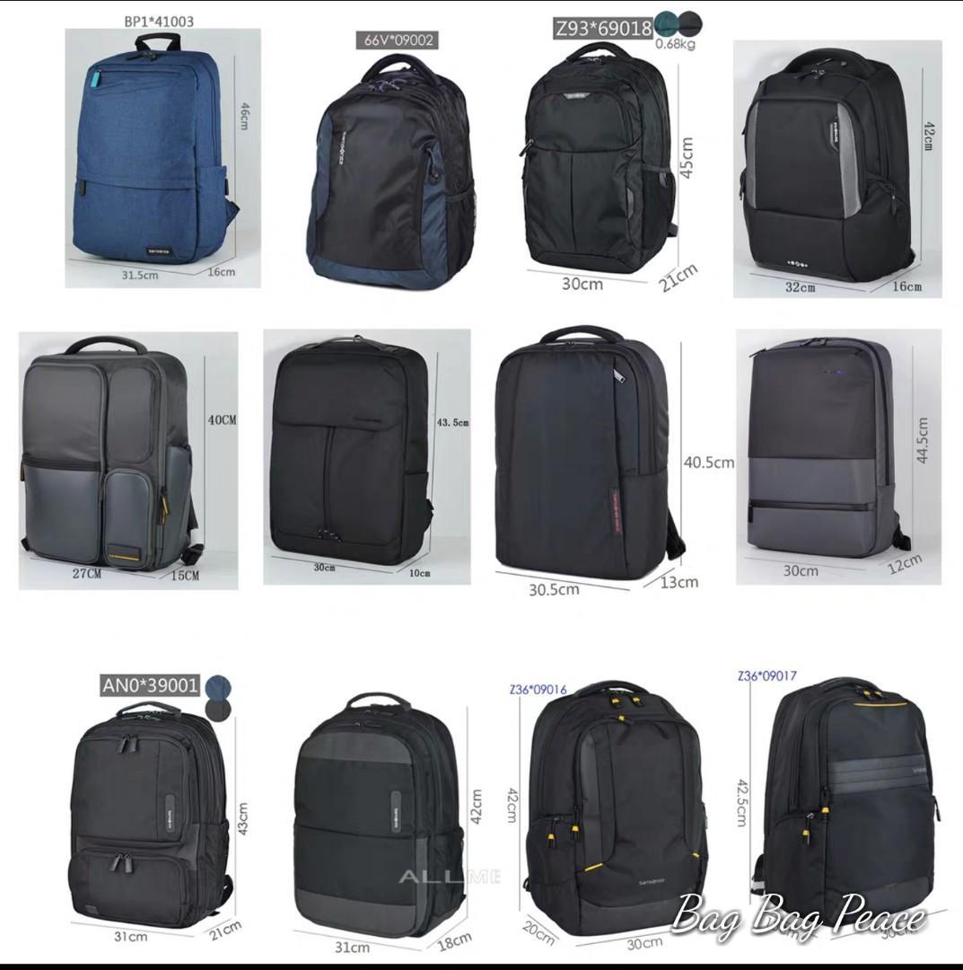 Samsonite Red backpack  $650 each  每個$650