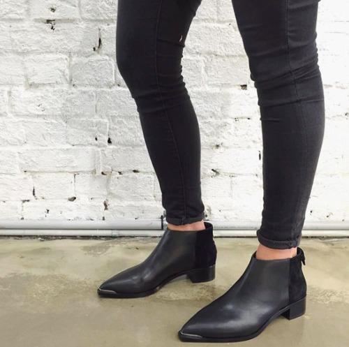 SENSO Ebony Leather Loni Ankle Boots - Size 38