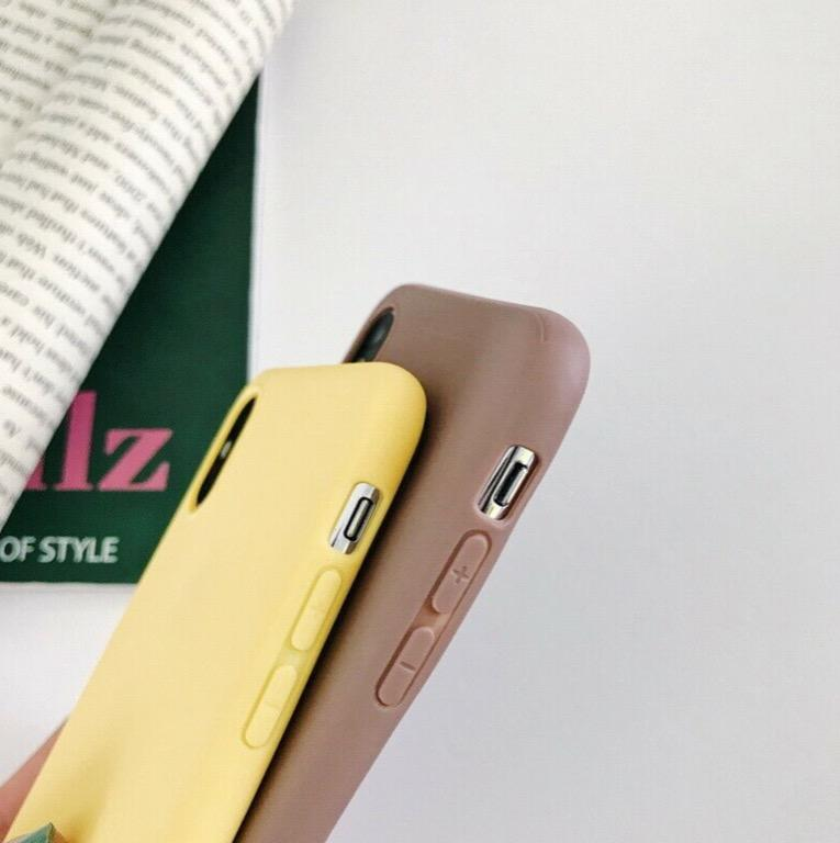 Smooth Frosted Matte Phone Case Covers for iPhones 6 and up