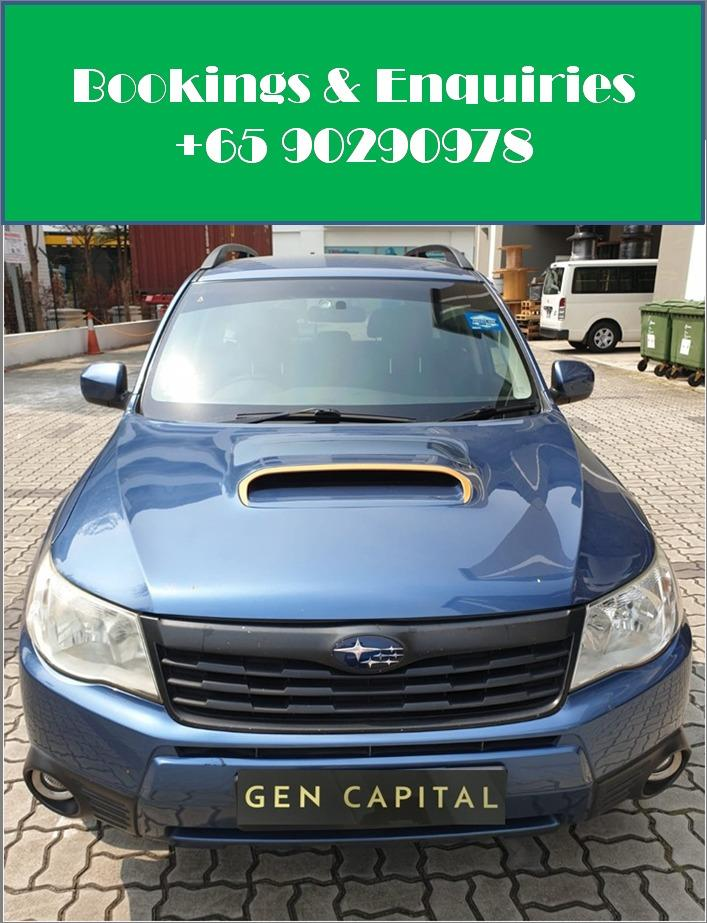 Subaru Forester 2.0A - Cheapest rental in city, quickest assistance!