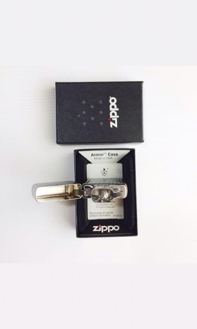Supreme Zippo Diamond Cut SS18 Original 100% Brand New