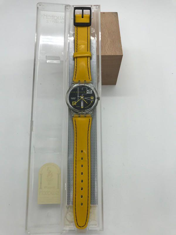 Swatch Watch - 100% new, never use, free for bid