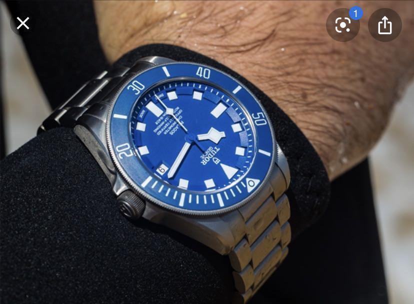 TUDOR Pelagos Blue Dial Watch 25600TB