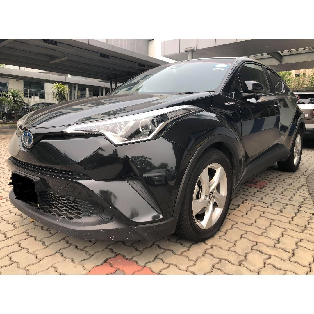 Vehicle rental for Grab/Gojek (Toyota CHR Hybrid , Honda Freed Hybrid, Mazda CX3 Diesel)