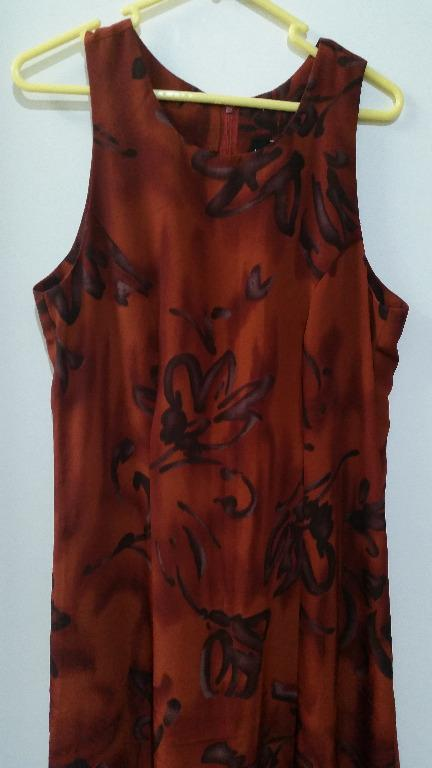 Vintage 90's Table Eight Dress Under the Table Size 8 Maxi Dress