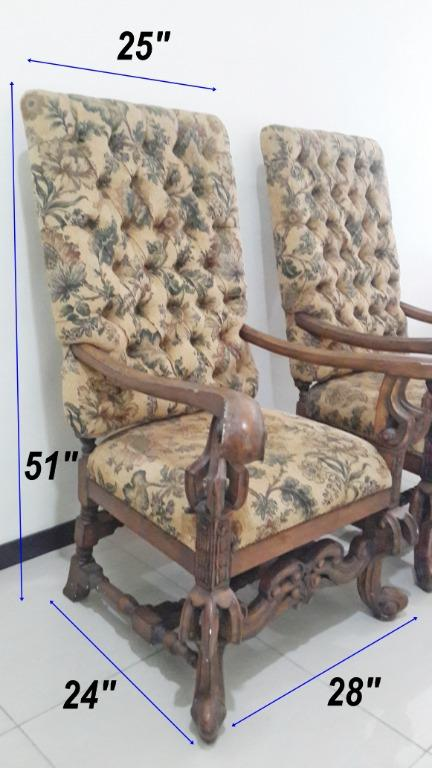 Vintage Antique Armchair 2
