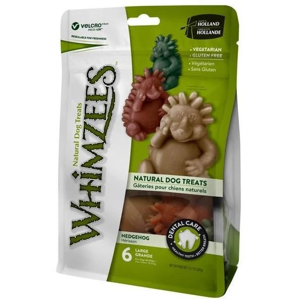 Whimzees Value Bag Hedgehog Large Dog Dental Chews 6's