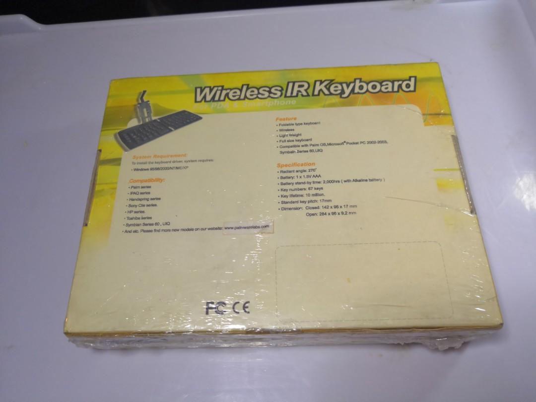 Wireless Ir infrared Keyboard IR-503 for PDA & Smart phone