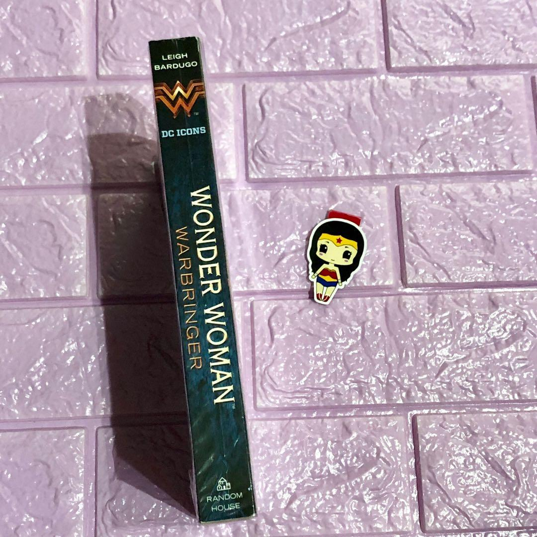 Wonder woman warbringer leigh bardugo brand new paperback with free bookmark on hand sealed ya fantasy book dc comics