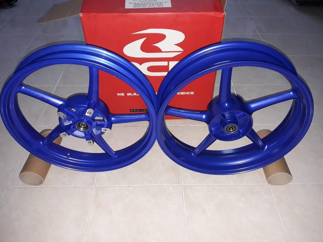 Y15ZR RCB SP522 2.50X3.50 SPORT RIM BLUE COLOR