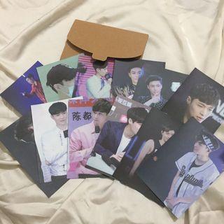 EXO 張藝興 照片 月曆卡