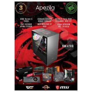 Ryzen Gaming PC + RX5700 XT