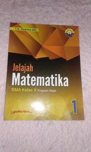 MATEMATIKA KELAS 10 KUR 2013 YUDHISTIRA ORI FULL COLOR