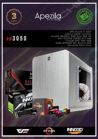 ITX Ryzen Gaming PC
