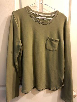 [二手]軍綠色長袖