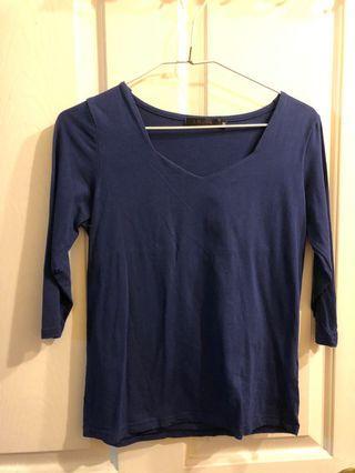 [二手]藍色貼身上衣