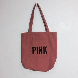 🍒降價了🍒豆沙暗粉Pink帆布袋