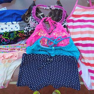 Take all 10-12 or large kids swimsuit! 21 pcs. Repriced!