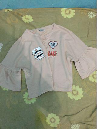Kaos blouse atasan