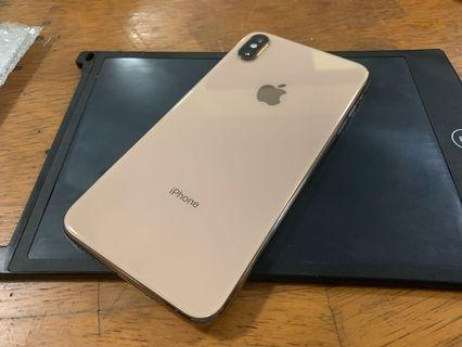 iphone xs max 256gb( gold bebas telco)