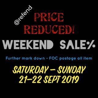 PRICE REDUCED! SALE SALE SALE