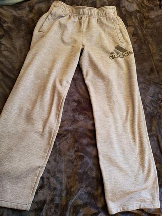 Light grey Adidas sweats