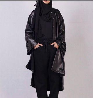 Long Varsity Jacket-Black Label 99