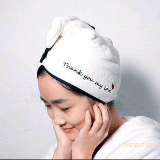 吸水乾髮帽(預購商品)