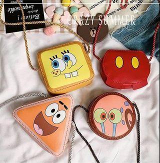 韓國超可愛海綿寶寶系列兒童小背包(預購商品)
