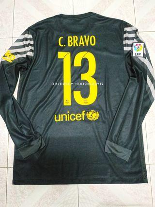 Barceloy goalkeeper jersey 15/16 kit L