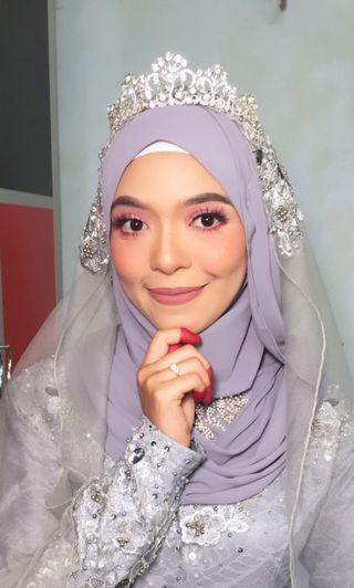 Makeup nikah sanding selangor ,kl,jb &kelantan