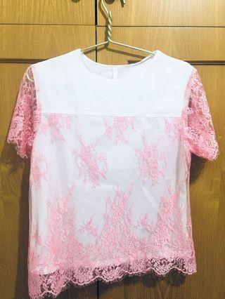 White pink top