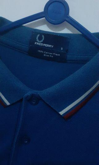 Polo Shirt Fred Perry blue size S to M