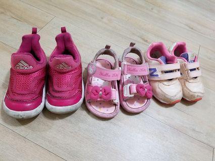 女童鞋子13-14cm(適合2歲穿)